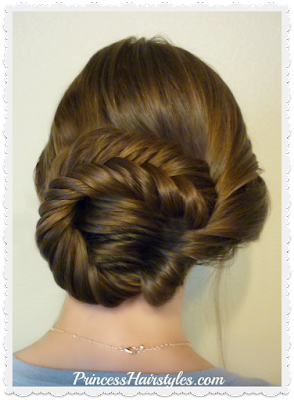 Pretty updo hairstyle tutorial