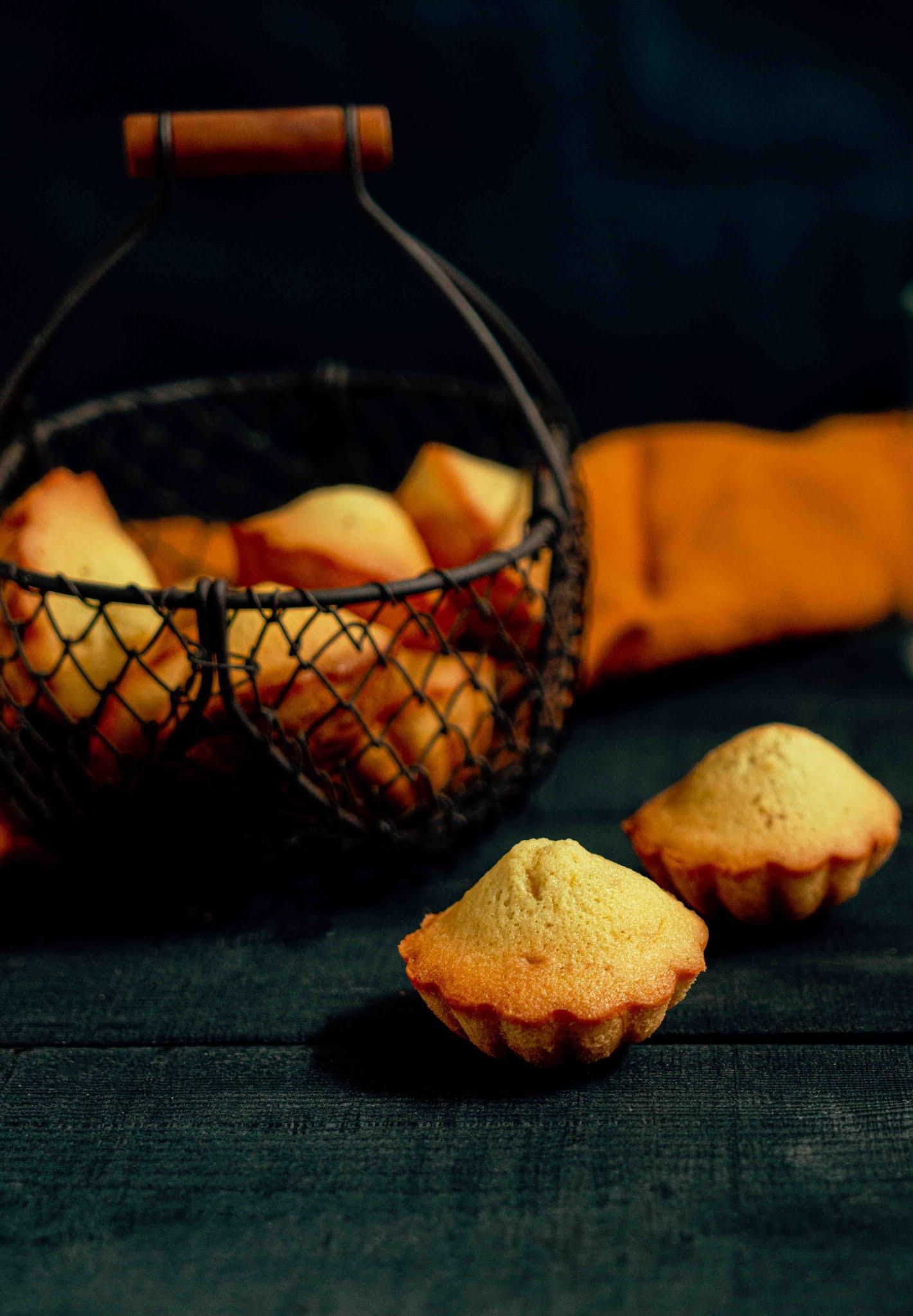 madeleine , coquillage , madeleine aux agrumes