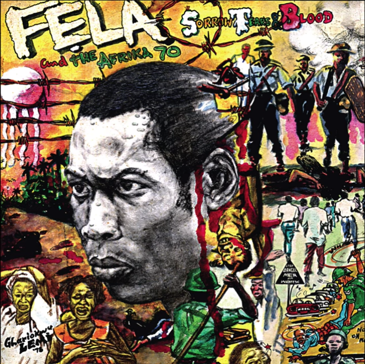 "Fela Kuti – ""Sorrow Tears and Blood"" (Edit) #Arewapublisize"