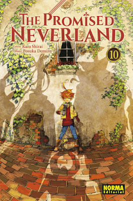 Manga: Review The Promised Neverland Vol 10. de Kaiu Shirai y Posuka Demizu - Norma Editorial
