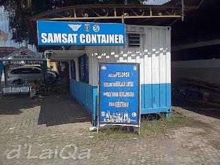 samsat container