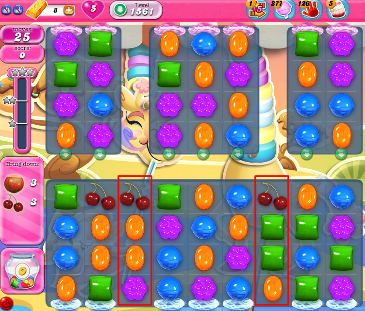 Candy Crush Saga 1561
