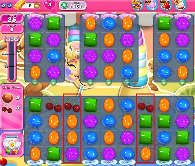 Candy Crush Saga 1561