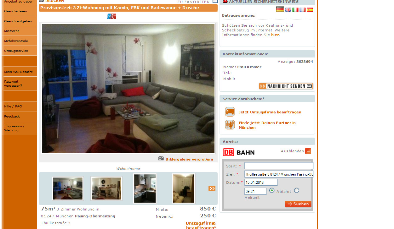 Wg Wohnung Berlin