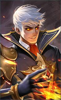 Alucard Fiery Inferno Heroes Fighter Assassin of Skins Season 2 V1