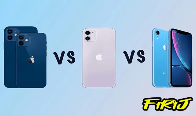 Comparaison Apple iPhone 12 vs 11 vs iPhone XR : quelle est la différence ?