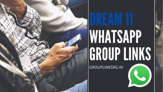 Dream11 Whatsapp Group Links 2020