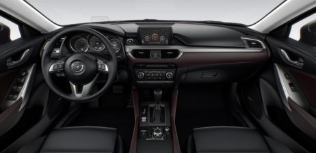 2018 Mazda MX6 Interior