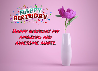 Happy birthday images aunt