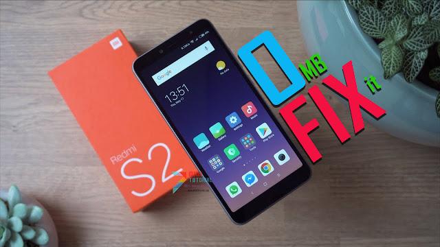 Muncul 0 MB pada Internal Memory Xiaomi Redmi S2 Setelah Dipasang Custom TWRP Recovery? Coba Cara Fix Berikut!