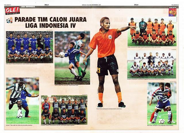 PARADE TIM CALON JUARA LIGA INDONESIA IV