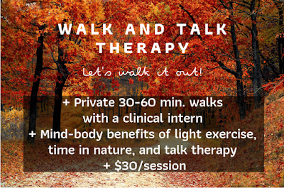 Walk and Talk Therapy, Resolve Counseling & Wellness