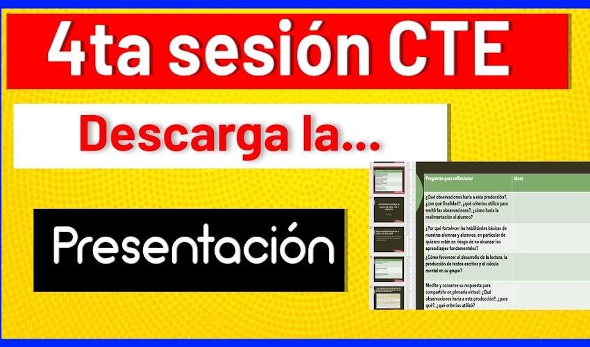✅ PRESENTACIÓN cuarta sesión CTE Ordinario enero 08 de 2021 --> DESCARGA