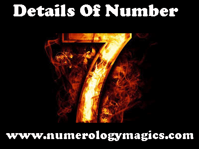 details of number 7 in numerology, characteristics of number 7