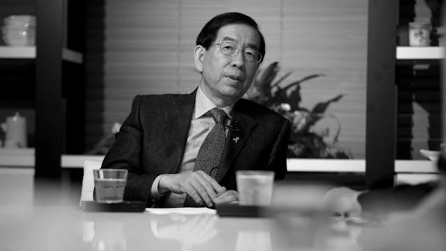Medios chinos reportan que hallaron muerto al alcalde de Seúl tras su desaparición
