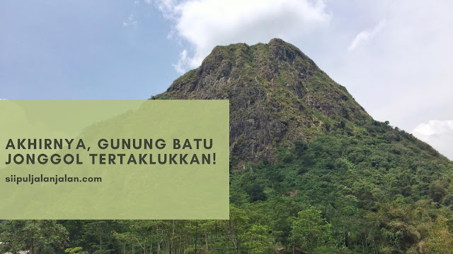 Pendakian Gunung Batu Jonggol