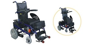 Electric Wheelchair for Handicap Person to Stand Up