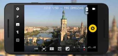 Camera FV-5 aplikasi fotografi android