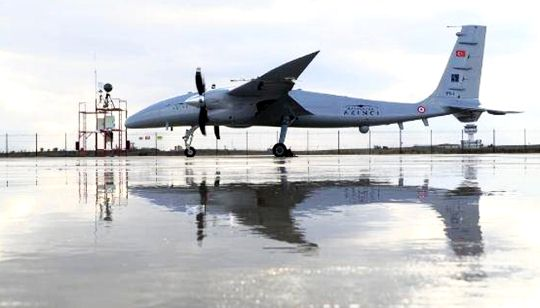Bayraktar Akinci Tiha Successfully Completed the Landing Take Off Test of the Remote Square