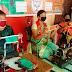 भाजपा महिला मोर्चा ने शुरू किया मास्क बनाने का कार्य