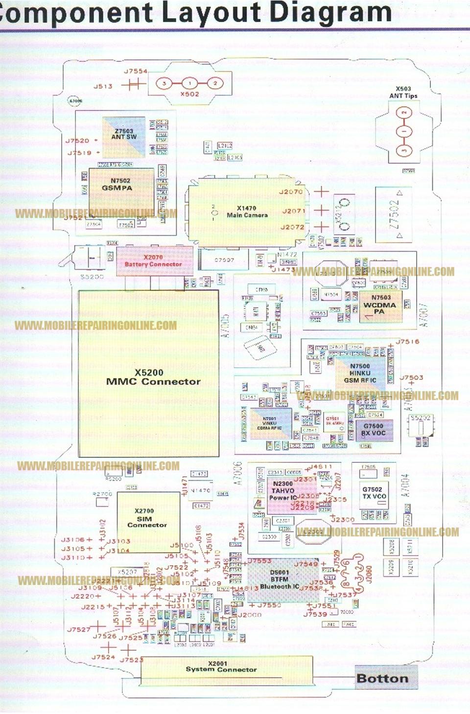 mobile phone    circuit       diagram    download   Mobile Repairing