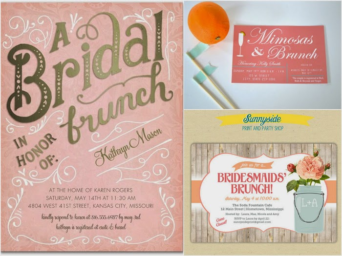Day After Wedding Brunch Invitation: Bridal Magic: Bridal Party Thank You Brunch
