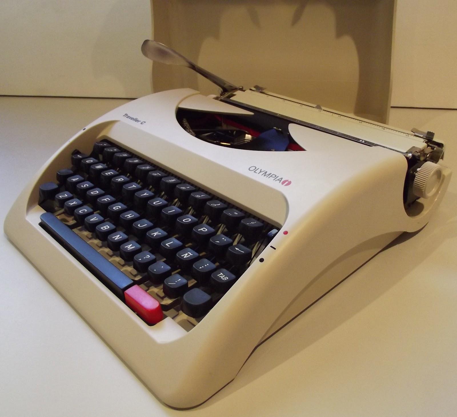 Typewriter: 2012 Manual Portable Typewriter?