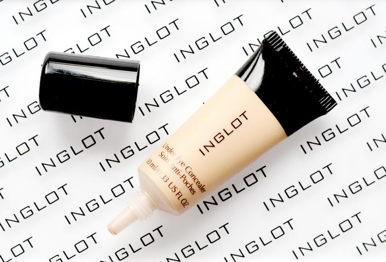 Inglot Under Eye Concealer отзыв свотчи, консилер который не подчеркивает морщины