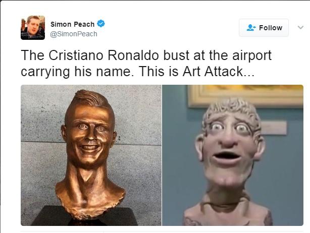 Statue Cristiano Ronaldo