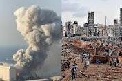 Penyebab Ledakan di Pelabuhan Beirut Lebanon