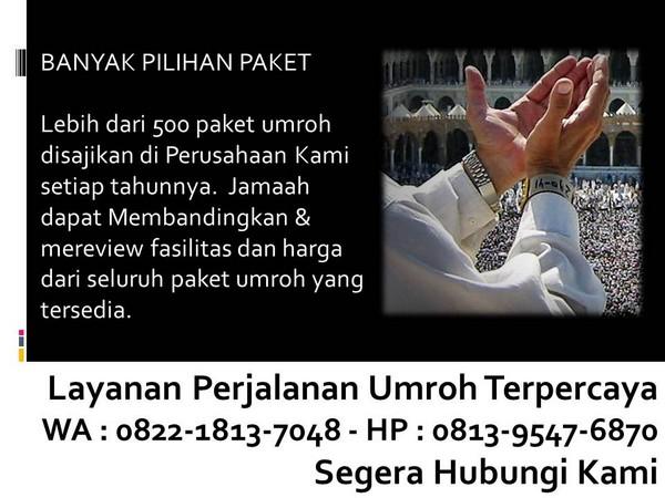 travel umroh yang terdaftar di indonesia bandung
