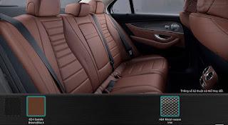 Nội thất Mercedes E300 AMG 2019 nhập khẩu màu Nâu 824