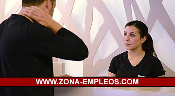 SE BUSCA RECEPCIONISTA PARA CENTRO DE ESTÉTICA - AMBOS SEXOS