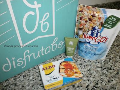 disfrutabox: sardinillas picantonas Albo, Luengo legumbres