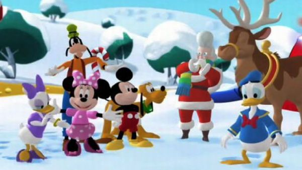 MICKEY MOUSE: Will you help us rescue Santa