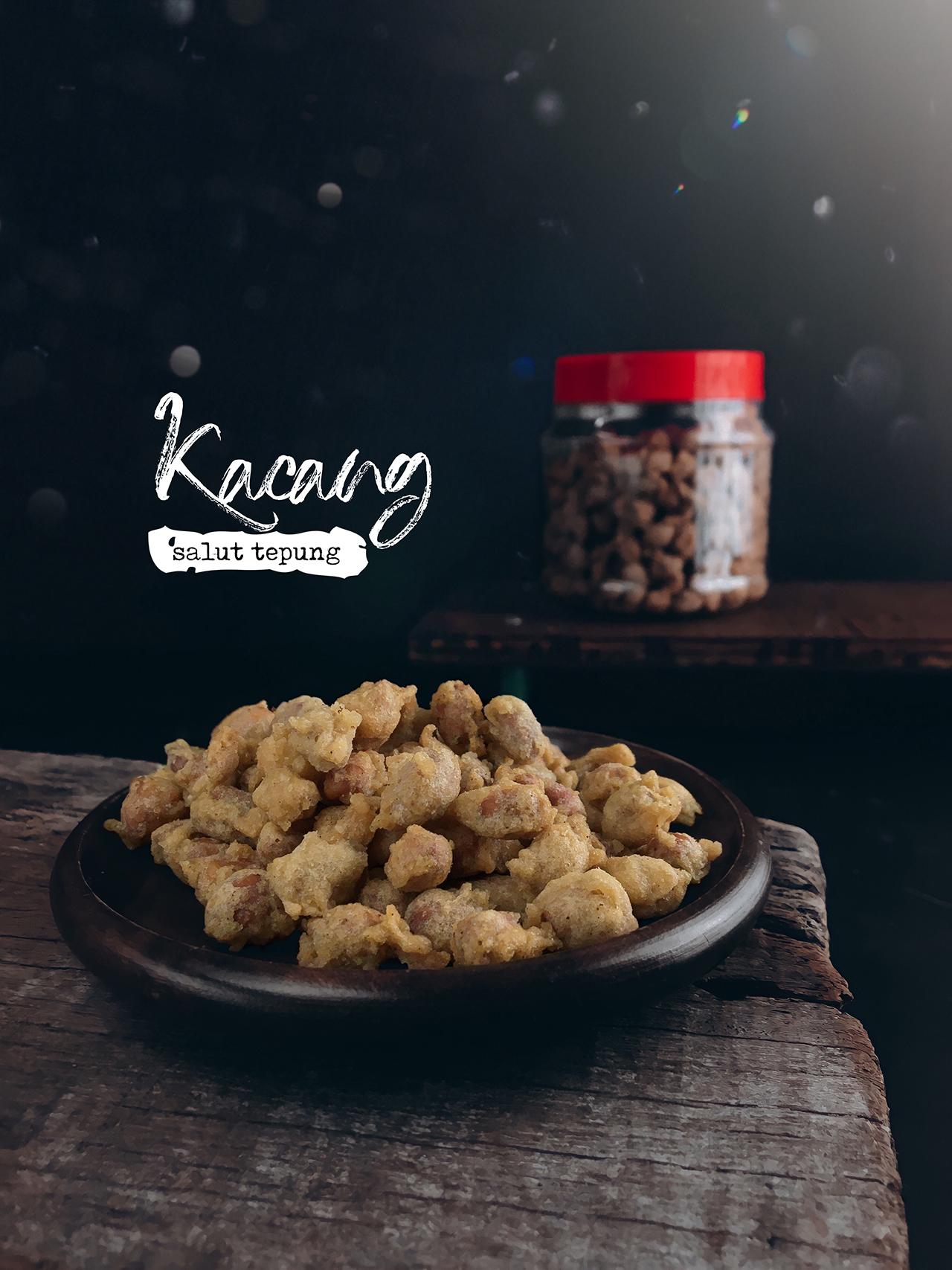 Kacang Salut Tepung Crispy