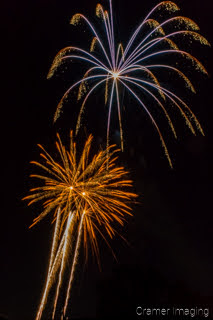 4th of July fireworks in Panguitch Utah captured by Cramer Imaging