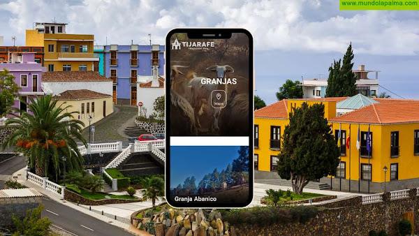 Tijarafe incluye las granjas y zonas de pastoreo del municipio en su web turística