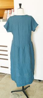 point ajouré machine à coudre robe guingette christelle beneytout