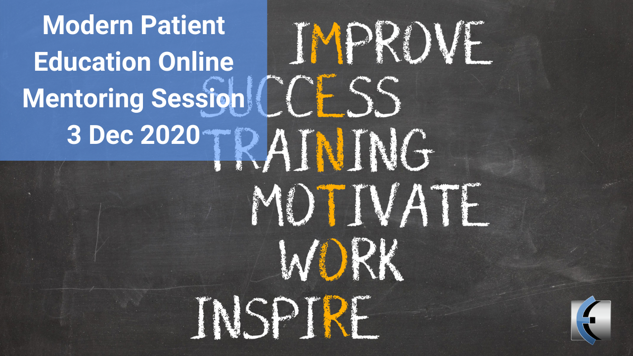 MPE - Online Mentoring Session 3 Dec 2020 - modernmanualtherapy.com