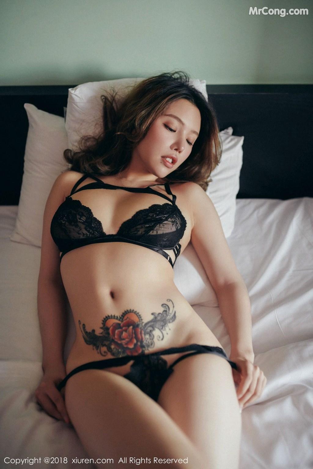 Image XIUREN-No.1200-Huang-Le-Ran-MrCong.com-009 in post XIUREN No.1200: Người mẫu Huang Le Ran (黄楽然) (54 ảnh)