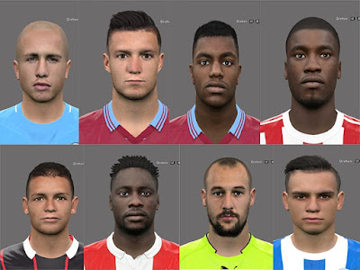 PES 2017 Facepack International by Rednik