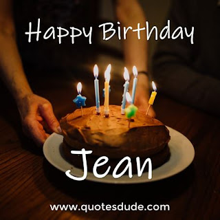 Happy Birthday Jean Cake.