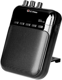 Aroma Guitar Amp Mini Portable Clip Amplifier Speaker