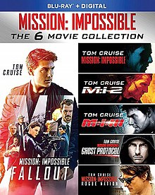 Mission Impossible All Parts Collection