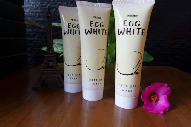 EGG WHITE PEEL OFF MASK Masker Telur EGG WHITE