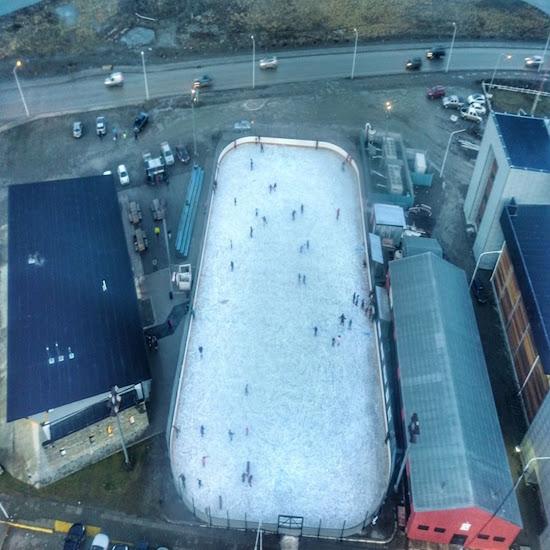 Proyecto para techar la pista de patinaje