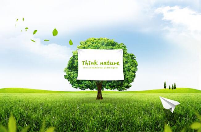 PSD Packgrounds free Download, تحميل خلفية طبيعه وخضره وشجره وسماء صافيه للفوتوشوب PSD, Tree in Green Nature psd background,