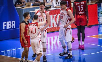 FIBA U18 Europe - Alperen Şengün - Furkan Haltalı - Atakan Erdek