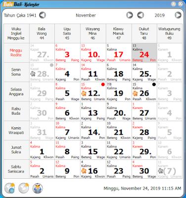 download balabali kalender